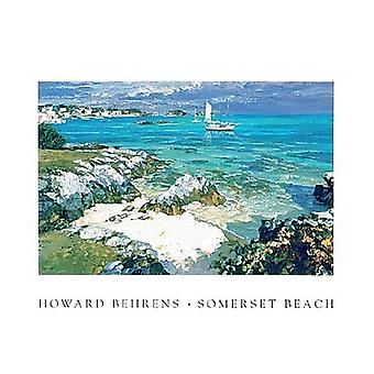 Somerset Beach (Small) Poster Print by Howard Behrens (14 x 11)