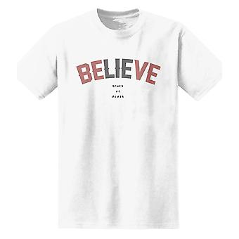 The T-Shirt Factory Mens Believe Truth Or Death T-Shirt