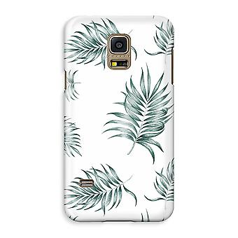 Samsung Galaxy S5 Mini Full Print Case - Simple leaves