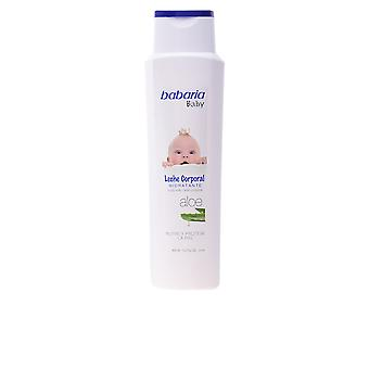 Babaria Baby Leche Corporal Hidratante Aloe 400ml Unisex New Scent Sealed Boxed