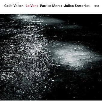 Colin Vallon Trio - Le Vent [CD] USA import