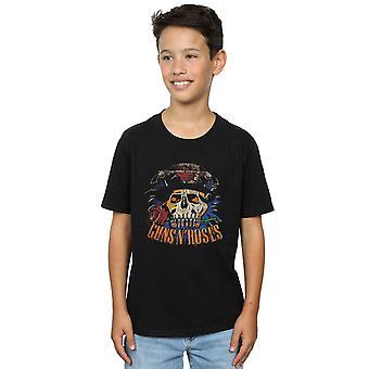 Guns N Roses jongens Vintage Skull T-Shirt