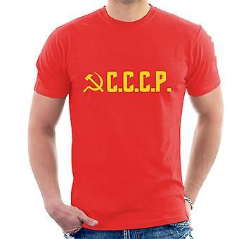Cccp Communist Party Men's T-Shirt