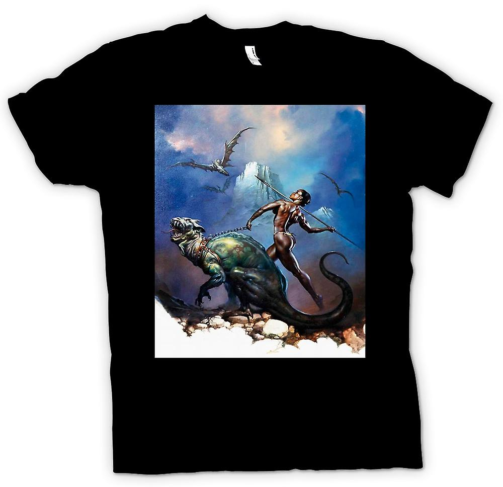 Mens T-shirt - Greek God - Javelin