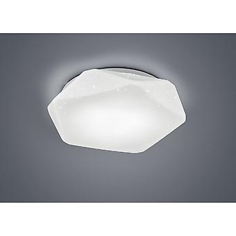 Trio Lighting Oregon Modern White Plastic Ceiling Lamp