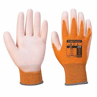 sUw - ESD Antistatic PU Palm Grip Gloves (12 Pair Pack)