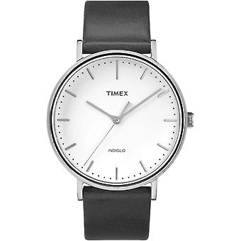Timex mens watch Fairfield 41 mm leather TW2R26300