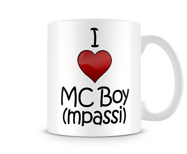 I Love MC Boy Printed Mug