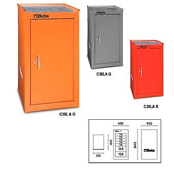 C38 LA-R Beta Side Door With Interior Shelf Red