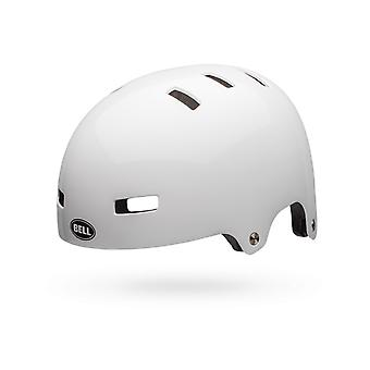 Bell White 2018 Local Skateboarding Helmet