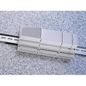 Weltron MR6/C FA RAL7035 ABS DIN Schienengehäuse 106 x 90 x 68 Acrylonitril Butadien Styrol Grau-weiß (RAL 7035) 1 Stk./s