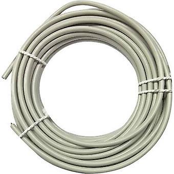 Phone cord J-Y(ST)Y 2 x 2 x 0.60 mm² Grey Kopp