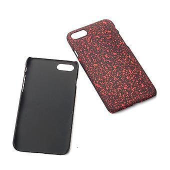 Cell phone dækning case kofanger shell for Apple iPhone 8 3D stjerner rød