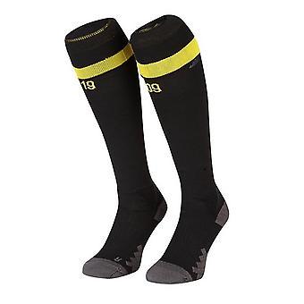 2018-2019 Borussia Dortmund auswärts Puma Socken (schwarz)
