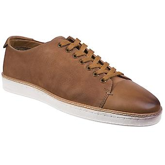 Gabicci Mens Tate Lace To Toe Casual Leather LaceUp Trainers