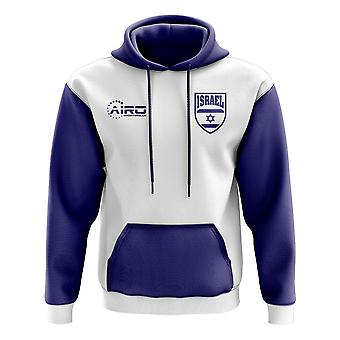 Isreal Concept land voetbal Hoody (wit)