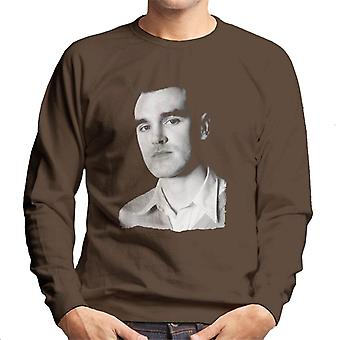 The Smiths Studio Portrait Of Morrissey Men's Sweatshirt
