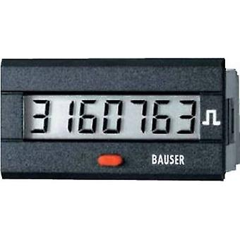 Bauser 3810.3.1.7.0.2 Digital pulse counter type 3810 Assembly dimensions 45 x 22 mm