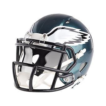 Riddell mini voetbal helm - NFL snelheid Philadelphia Eagles