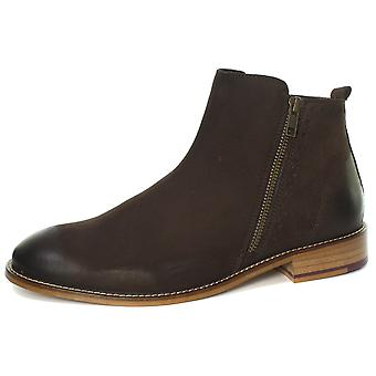 London Brogues Wallace Mens Zipper Chelsea Boots  AND COLOURS