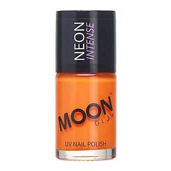 Månen glød - 14ml Neon UV neglelak - intens Orange