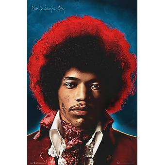 Jimi Hendrix Both Sides Of The Sky Maxi Poster 61x91.5cm