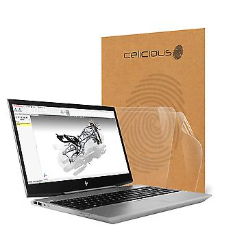 Celicious Vivid Invisible Glossy HD Screen Protector Film Compatible with HP ZBook 15v G5 (Touch) [Pack of 2]