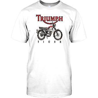 Triumph Tiger - Classic British Bike Kids T Shirt