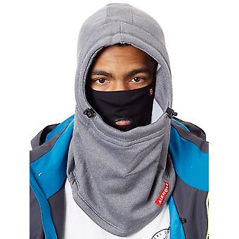 Airhole Heather Grey Polar Snowboarding Facemask Hood