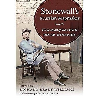 Muro de piedra de cartógrafo prusiano: los diarios de capitán Oscar Hinrichs (Guerra Civil América)