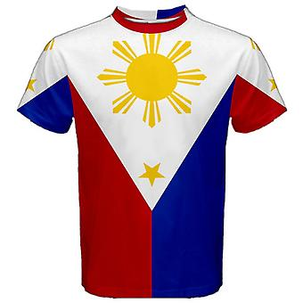 Philippines Flag Sublimated Sports Jersey