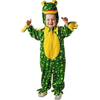 Colorful Frog Toddler Costume