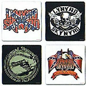 Lynyrd Skynyrd boxed set of drinks coasters