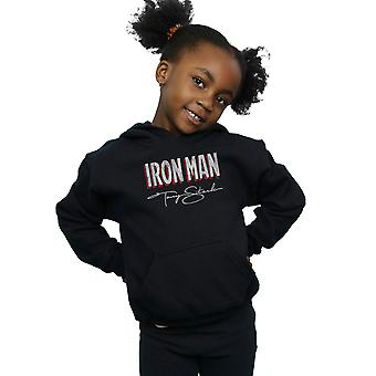 Marvel Girls Iron Man AKA Tony Stark Hoodie