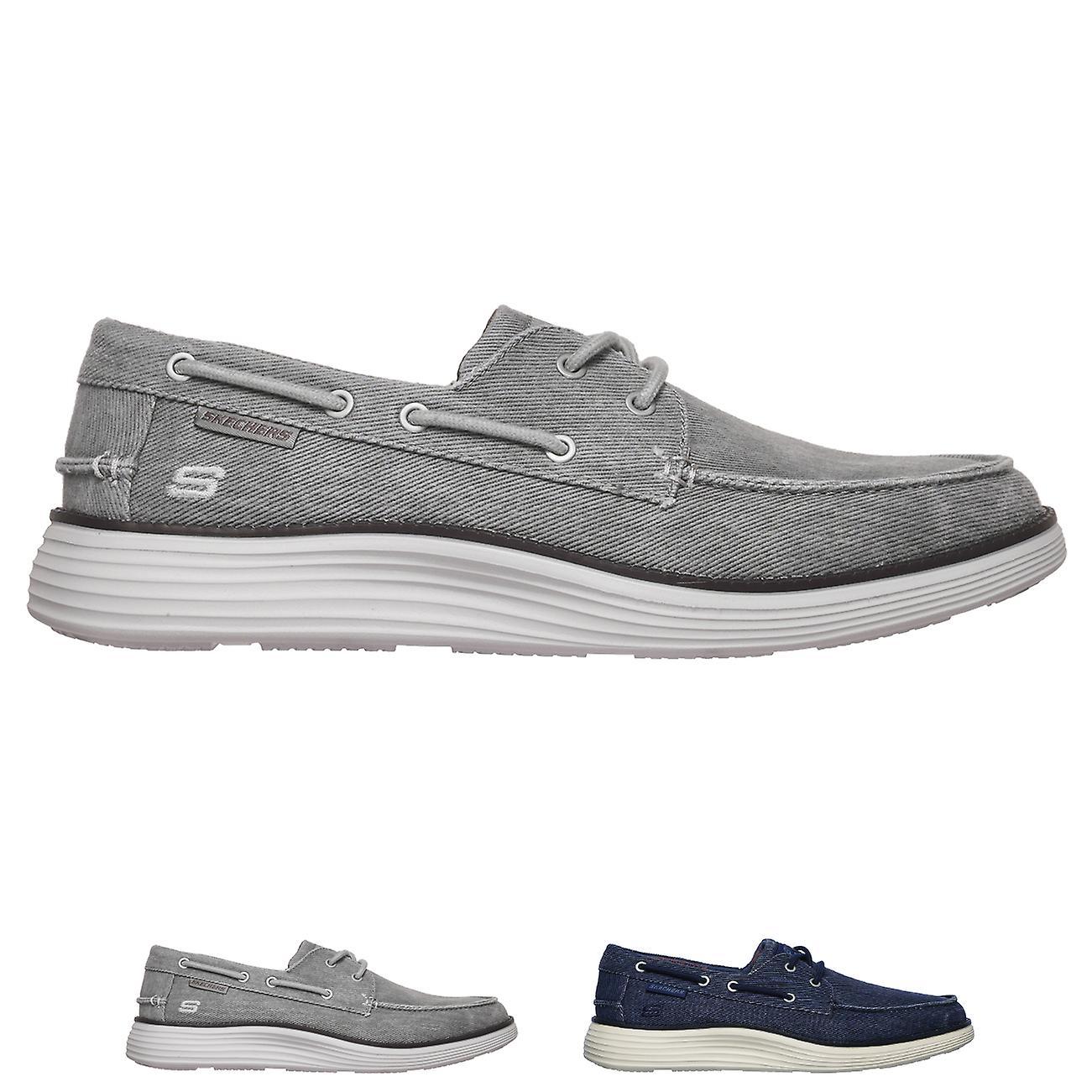 Mens Skechers statut 2.0 Lorano mocassin léger mémoire mousse chaussures