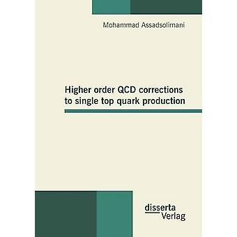 Higher order QCD corrections to single top quark production by Assadsolimani & Mohammad