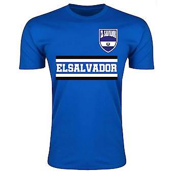 El Salvador Core Football Country T-Shirt (Blue)