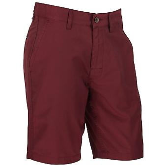 RVCA Mens Weekend Hybrid Casual Boardshorts Shorts - Tawny Port Red