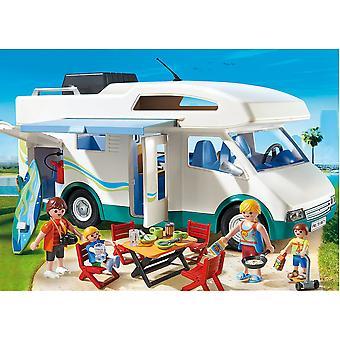 Playmobil verano divertido verano Camper