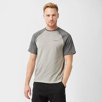 Craghoppers Men's NosiLife Anello Short-Sleeved T-Shirt Grey