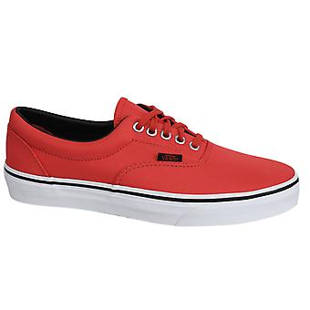 Vans Off The Wall Era MLX Cayenne Canvas Trainers - W3CEC5