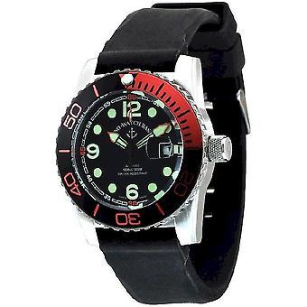 Zeno-watch montre plongeur avion automatique 6349-3-a1-5