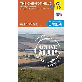 The Cheviot Hills - Jedburgh & Wooler by Ordnance Survey - 9780319469
