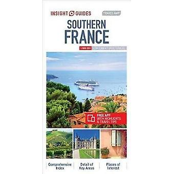 Insight Guides Travel Map Southern France by Insight Guides - 9781786