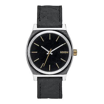 Nixon Time Teller nero in ottone (A0452222)