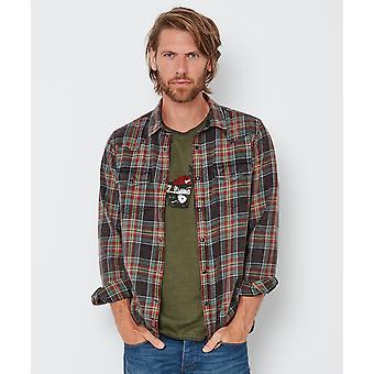 Joe Browns mens Western Style pläd skjorta