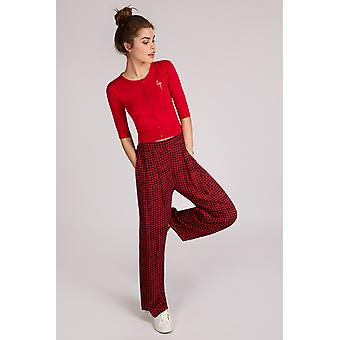 Louche Rodney Country Trouser Red