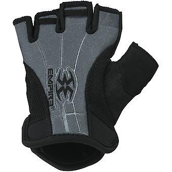 Empire fingerless elastisk mansjett paintball hansker-S/M-svart/grå