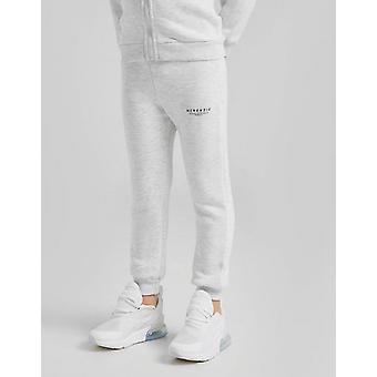 New McKenzie Boys' Essential Fleece Joggers Grey