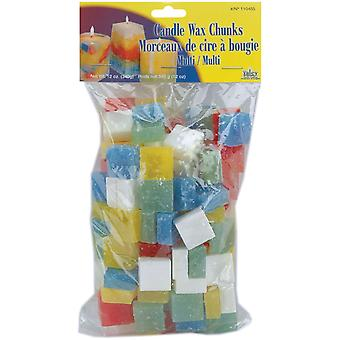 Candle Wax Chunks 12 Ounces Multi 110400 455